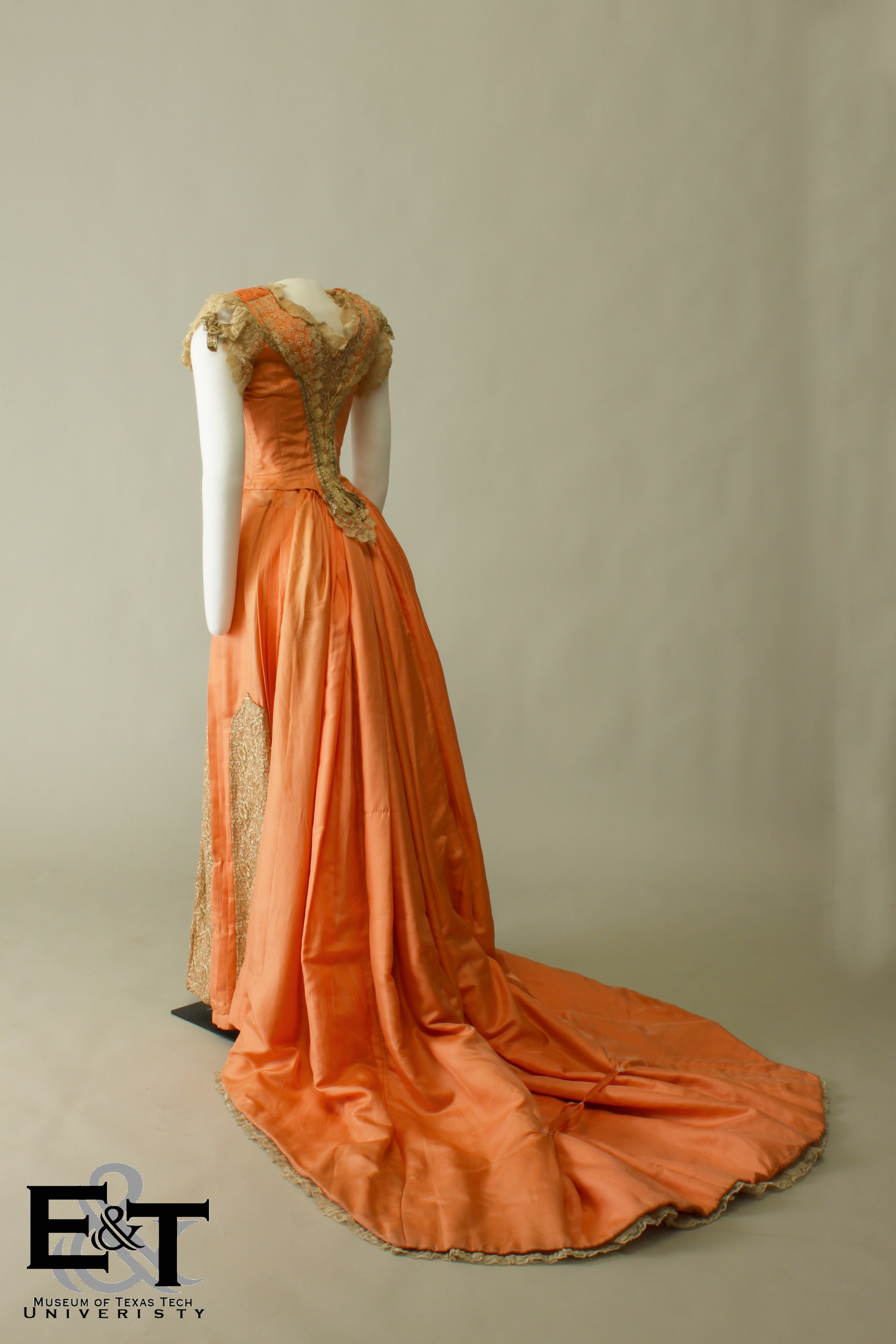 Hattie Napice purchased this gown at the same time as her 1890 wedding dress